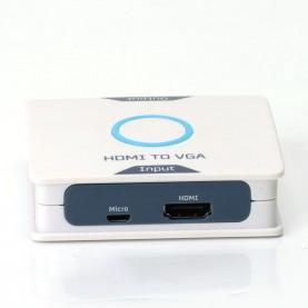 Мультимедиа конвертер Vention HDMI > VGA + аудио