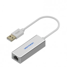Сетевой адаптер Vention USB 2.0 M/Megabit Ethernet RJ45 F