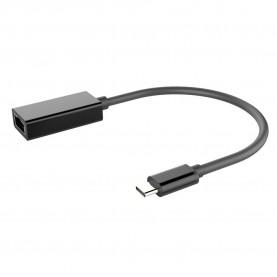 Сетевой адаптер Vention USB Type C M/Gigabit Ethernet RJ45 F