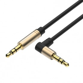 Кабель Vention аудио Jack 3,5 mm M/Jack 3,5 mm M угол 90