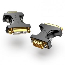 Адаптер-переходник Vention DVI-I 24+5F/ VGA 15M