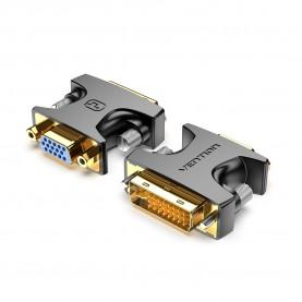 Адаптер-переходник Vention DVI-I 24+5M/ VGA 15F