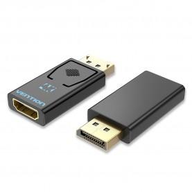 Адаптер-переходник Vention DisplayPort 20M > HDMI F 4K