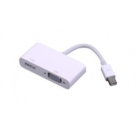 Адаптер-переходник Vention mini DisplayPort 20M > HDMI/VGA