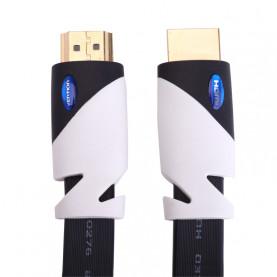 Кабель Vention HDMI High speed v1.4 with Ethernet 19M/19M, плоский