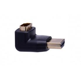 Адаптер-переходник Vention HDMI 19M/19F угол 90