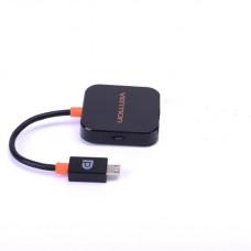Адаптер SlimPort Vention micro USB M/HDMI F Black