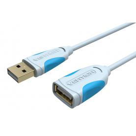 Кабель-удлинитель Vention USB 2.0 AM/AF Серый