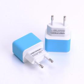 Адаптер питания Vention 220V/USB AF