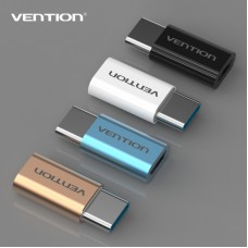 Адаптер-переходник Vention USB Type C M/ USB 2.0 micro B 5pin F
