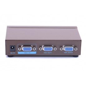 Сплиттер - разветвитель Vention VGA 15F/2х15F на 2 монитора