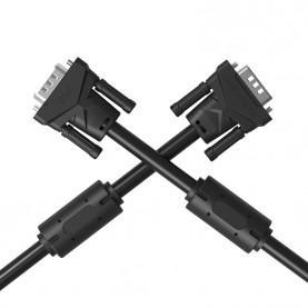 Кабель Vention VGA 15M/15M с 2 ферритовыми фильтрами
