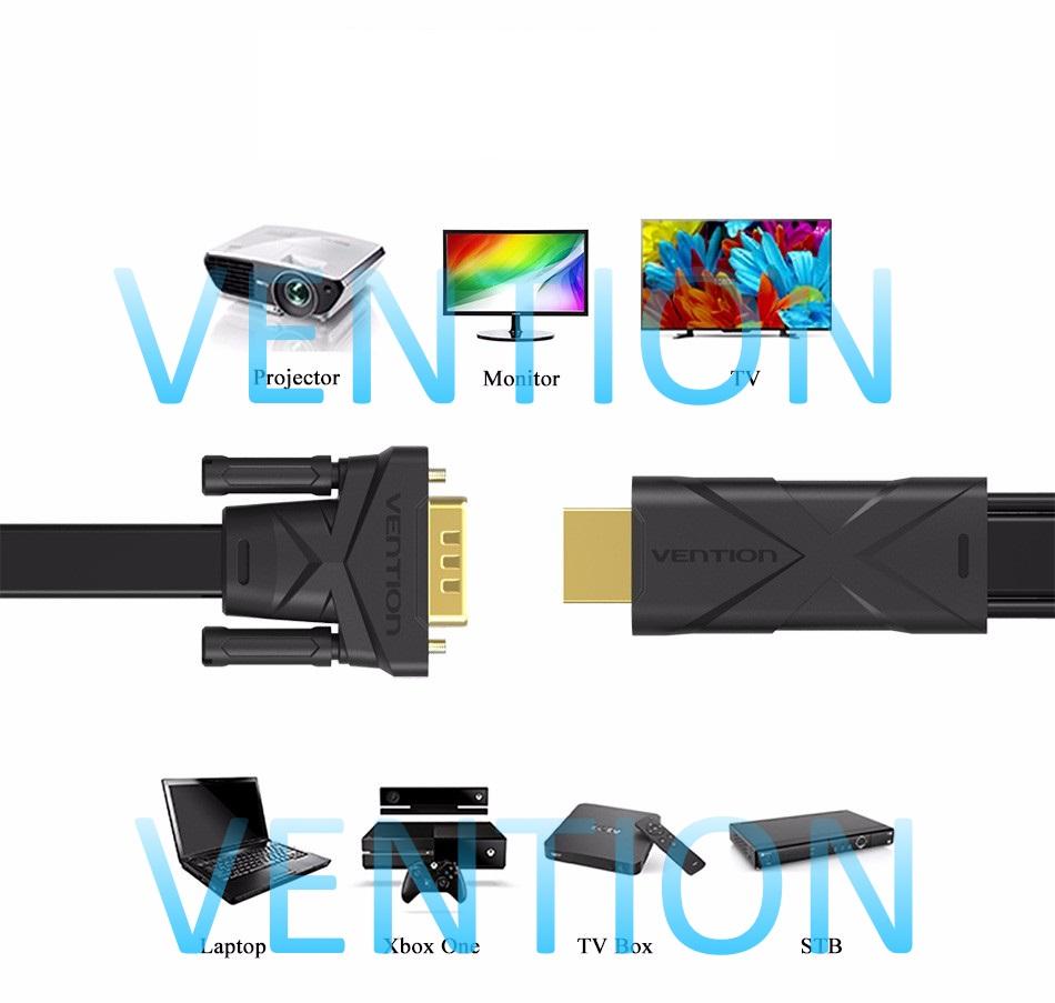 Кабель-конвертер HDMI 19M/VGA 15M, плоский, дополнительное питание+аудио